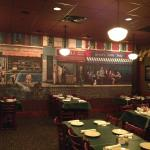 Little Italy Room that we ate in
