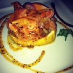 Ceviche salmão + maracujá