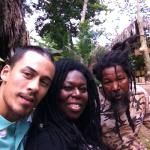Forming lasting friendships at the Rastafari Indigenous Village: December 2014