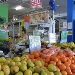 Fresh fruit and lots of choice