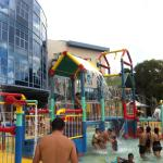 Water playground for kids
