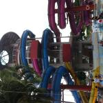 Water slides are currently closed