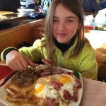 Il piatto dello sciatore
