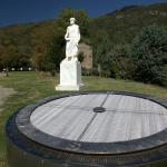 Aristotle Park - the compass