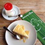 Toblerone cheese cake and panna cotta