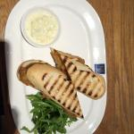 Fish finger sandwich set menu