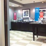 a view of the breakfast counter