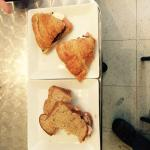 Croissants and whole grain breads - great