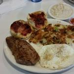 $3.99 Steak and Eggs Breakfast