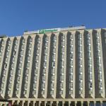 Parte externa del hotel Holliday Inn, Madrid.