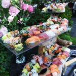 sushis sur place mariage