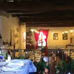 Sala del ristorante: veduta dal soppalco