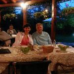 Buitenterras van Restoran Dincic