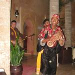 Gnaoua musicians on Christmas Eve
