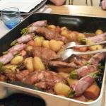Rabbit with Prunes- Amazing table d'hote