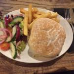 Vegetable hamburger £7.5