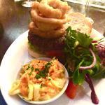 Steak & truffle burger