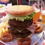 Big burger da 1360g fantastico