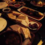 Tapas dishes, very tasty some quite small portions.