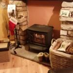 Cosy log burner