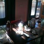 Café da manhã servido diariamente