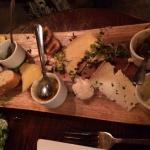 demolished cheese plate