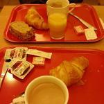 plateaux petit dejeuné