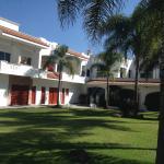 Vista desde la entrada del hotel