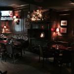 """Inside the """"pub"""" area"""