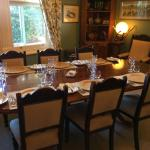 Meals in the dining room
