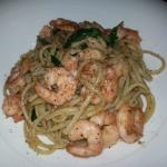 shrimp/garlic pasta