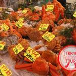 Many kinds of seafood!