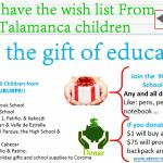 Helps us to make true the wish list