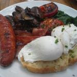 The Big Breakfast with poached eggs - PERFECTION!