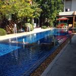 Poolside loveliness