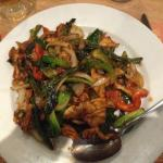 Sauteed Spicy Beef With Thai Basil & Chili