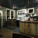 Inside Kudu Coffee