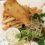 Fish & Chips - great chips tasty salad