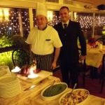 The chef with Marco amazng & very professional persons