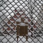 Зима и синагога
