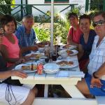 Family breakfast in Lonsgships Drive