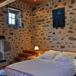 Chambre du Moulin côté lit