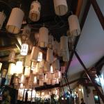 decoração do restaurante