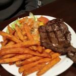 Children's steak and sweet potato fries