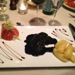 Rundvlees met balsamico saus