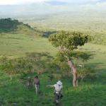 Walking in the Chuylu Hills