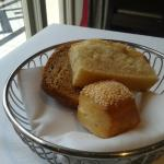 Delicious bread basket all home baked!