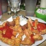Shrimp dinner-yum