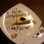 saludo de cumpleaños del hotel