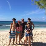 The fam at salt cay